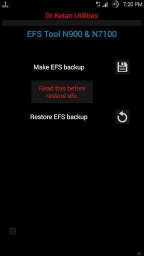 EFS Tool Samsung N7100 900