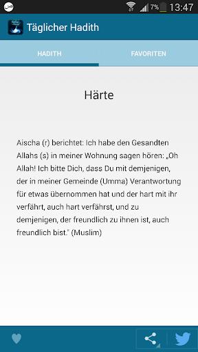 Täglicher Hadith