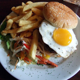 Breakfast Burger.