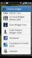 Screenshot of Duke Nukem Widget (HUN)