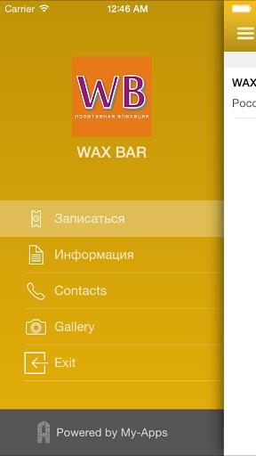 WAX BAR