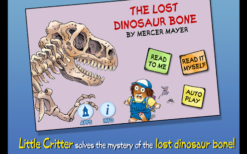 Dinosaur Bone - Little Critter - screenshot thumbnail