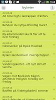 Screenshot of Mitt Skellefteå