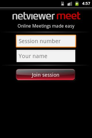 Netviewer Meet Mobile - screenshot