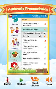Phrasebook - Learn Languages - screenshot thumbnail