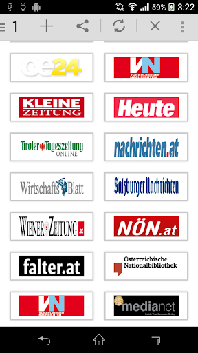 All Newspaper of Austria.