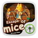 Escape of Mice GO Locker Theme icon