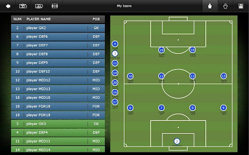 Mourinho Tactical Board Tablet- screenshot thumbnail