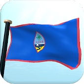 Guam Flag 3D Free Wallpaper