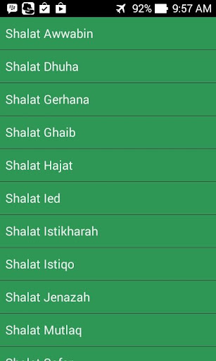 Shalat Sunnah Dzikir Doa