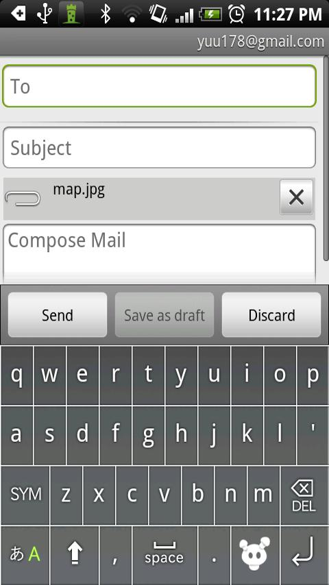 SendMap Free Mail Map - screenshot