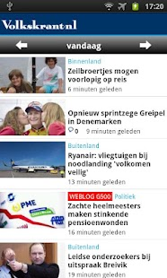 Volkskrant.nl Mobile - screenshot thumbnail