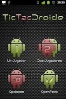 Screenshot of TicTacDroide - Tic Tac Toe