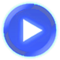 Royal Blue skin for Poweramp