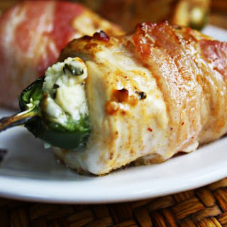 Bacon-Wrapped Chicken Stuffed with Jalapeno Poppers
