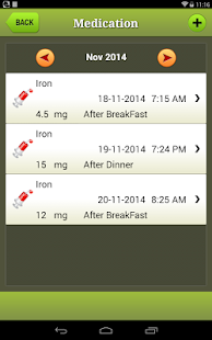 Diabetes Manager for Android- screenshot thumbnail