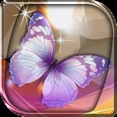 Glowing Butterflies Wallpaper