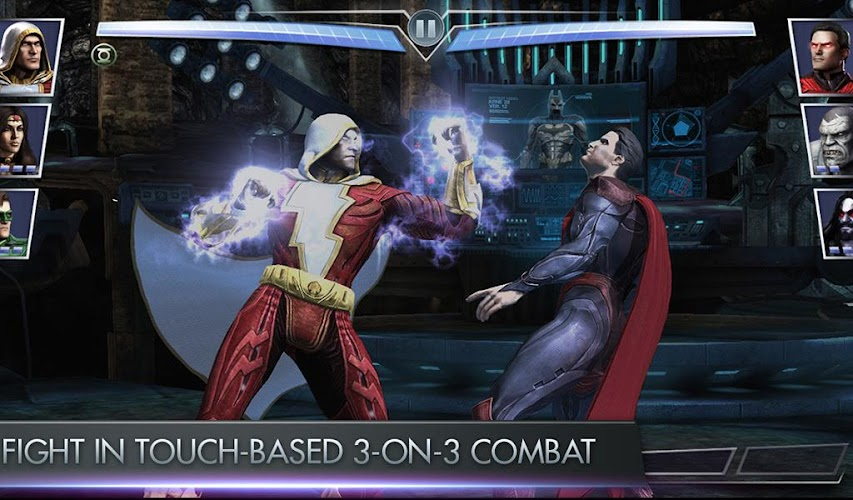 Injustice Gods Among Us Hack Mod v2.4.1 APK+OBB DATA (Unlimited Gold) - screenshot