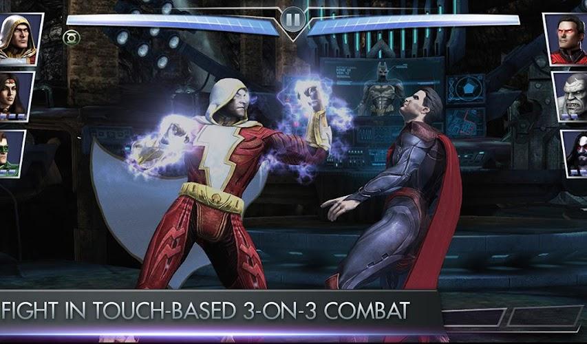 Injustice Gods Among Us Hack Mod v2.4.1 APK+OBB DATA (Unlimited Gold) - screenshot