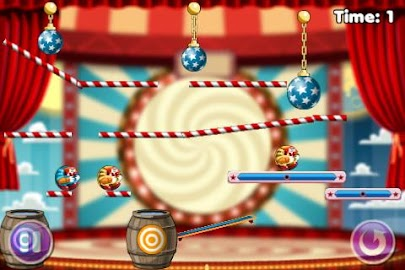 Puzzle Game - Cut the clowns 2 Screenshot 1