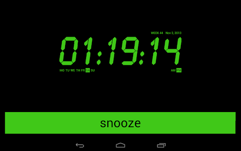 Alarm Clock Radio FREE- screenshot thumbnail