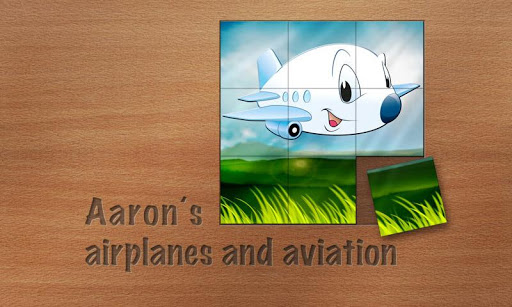 Aaron's Kids Airplane Puzzles