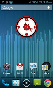 Amazing Analog Clock Widget - screenshot thumbnail