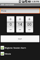 Screenshot of OI Countdown