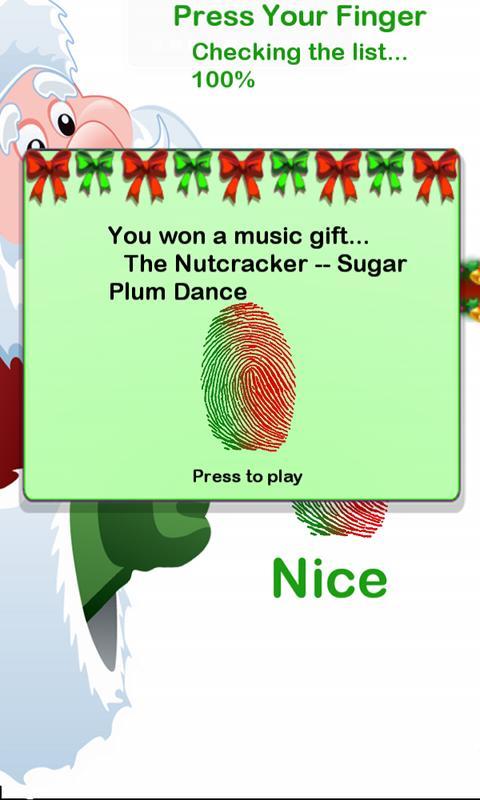 Santa's Naughty Nice Scanner- screenshot