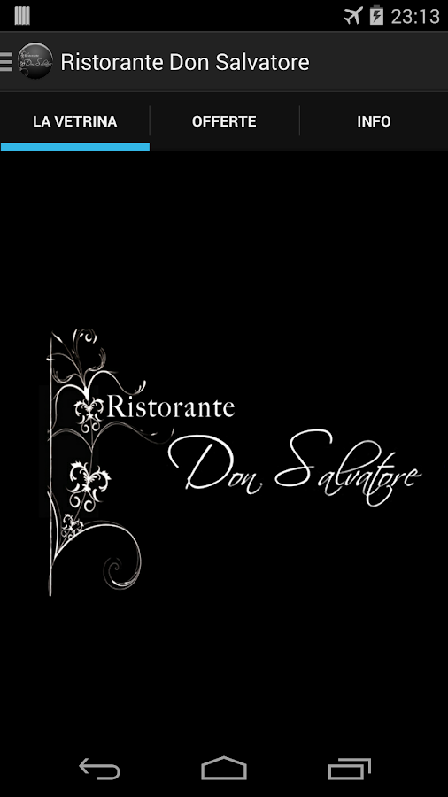 Ristorante Don Salvatore- screenshot