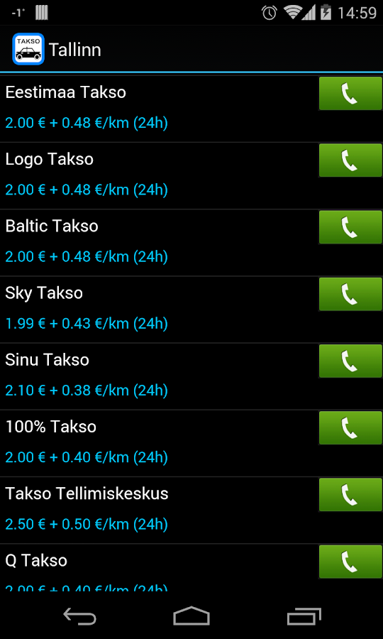 Kutsu Takso - screenshot