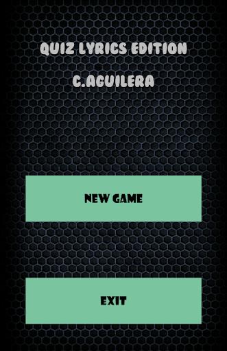 Quiz Lyrics Edition C.Aguilera
