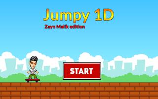 Screenshot of Jumpy 1D - Zayn Malik Edition