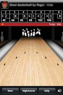 Finger Bowling - screenshot thumbnail