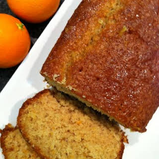 Oat Cake With Orange.