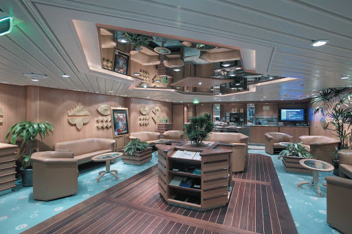 Explorer-of-the-Seas-Concierge-Club - Explorer of the Seas' Concierge Club is an intimate, exclusive retreat for guests in Grand Suites and higher accommodations, as well as Crown & Anchor Society Diamond Plus and Pinnacle Club members.