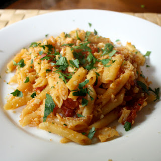 Pasta with Cauliflower and Anchovies.