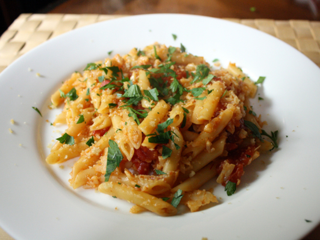 Pasta with Cauliflower and Anchovies Recipe