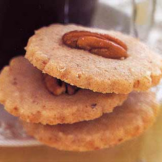 Pecan Shortbread Cookies.