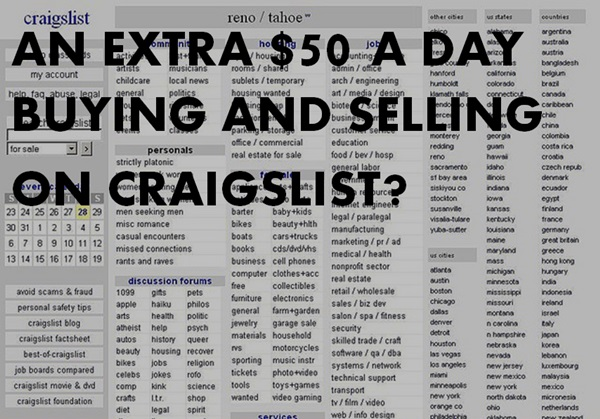 How to Make a Full-Time Living on Craigslist
