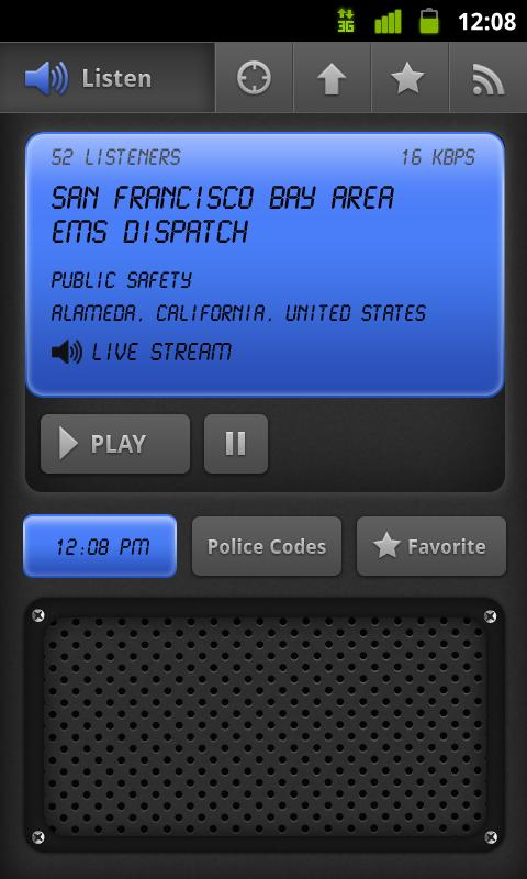 Police Scanner - screenshot