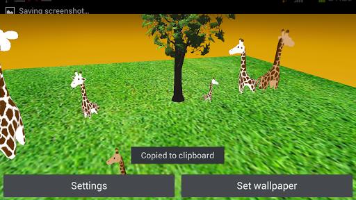 The African Giraffe 3D HD free