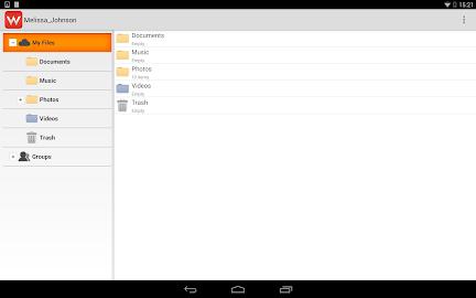 Wuala Screenshot 1