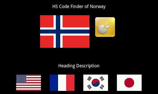 HS Code Finder Norway