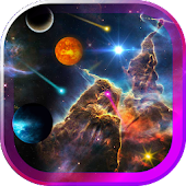 Space Gallery live wallpaper