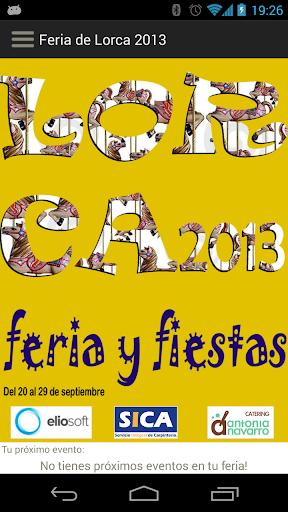 Feria de Lorca 2013