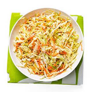 Green Cabbage Coleslaw.