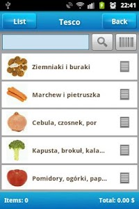Shopping List screenshot 1