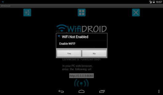 WifiDroid - Wifi File Transfer- screenshot thumbnail