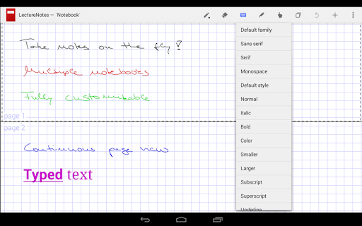 生產應用必備免費app推薦|LectureNotes (Trial Version)線上免付費app下載|3C達人阿輝的APP